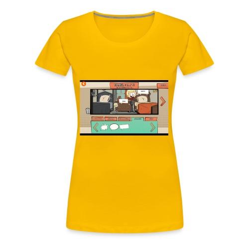 Teh comic - Women's Premium T-Shirt