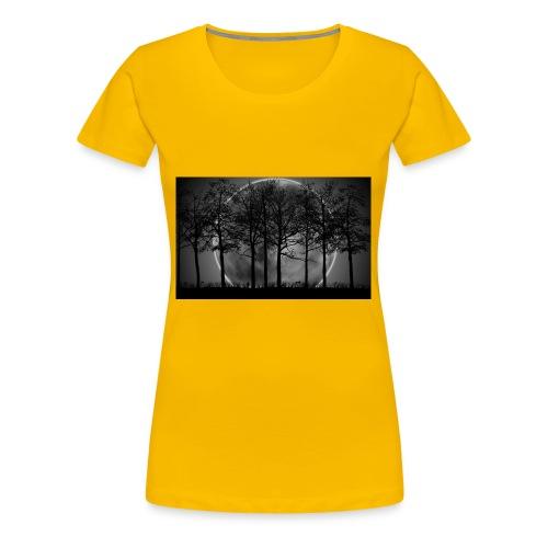 7034869 moon night art - Women's Premium T-Shirt