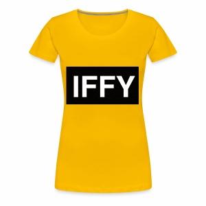 """""""IFFY"""" Nickname - Women's Premium T-Shirt"""