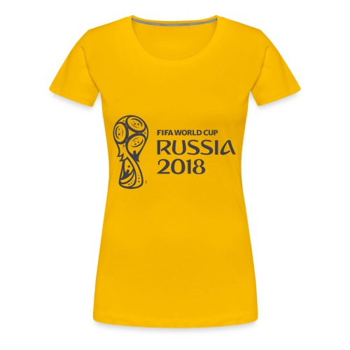 World Russia 2018 - Women's Premium T-Shirt