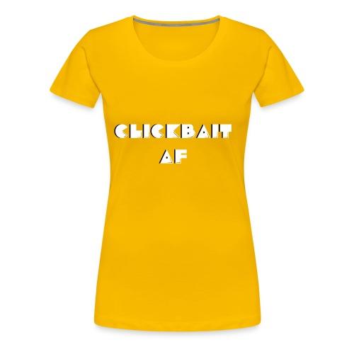 CLICKBAIT - Women's Premium T-Shirt