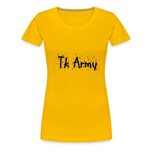 Tk Army - Women's Premium T-Shirt