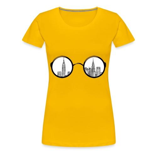 NYGlasses - Women's Premium T-Shirt