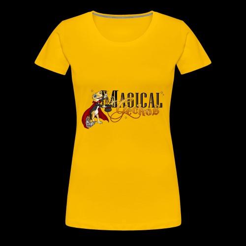 Gecko Magician - Women's Premium T-Shirt