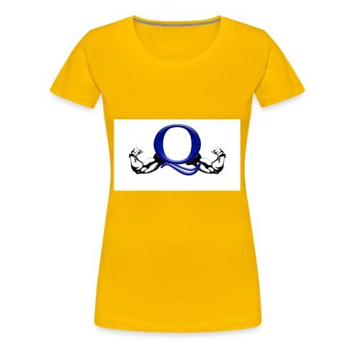 Q logo - Women's Premium T-Shirt