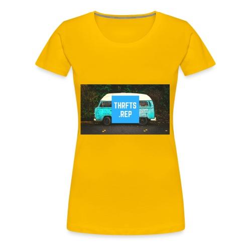 thrfts rep - Women's Premium T-Shirt