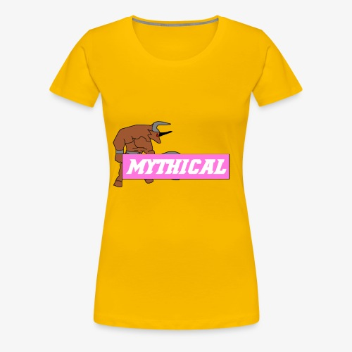 Mythical Logo Design - Women's Premium T-Shirt
