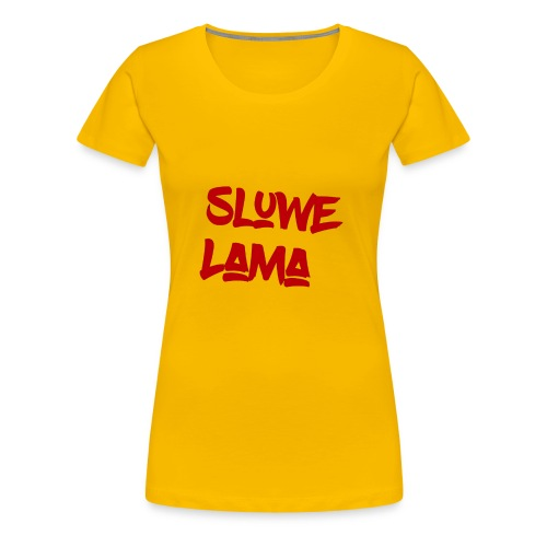 SluweLama Design - Women's Premium T-Shirt