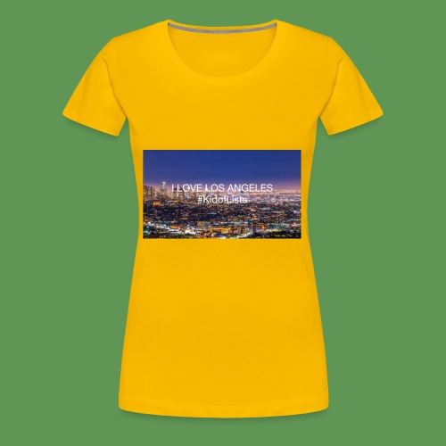 I love Los Angeles desig - Women's Premium T-Shirt