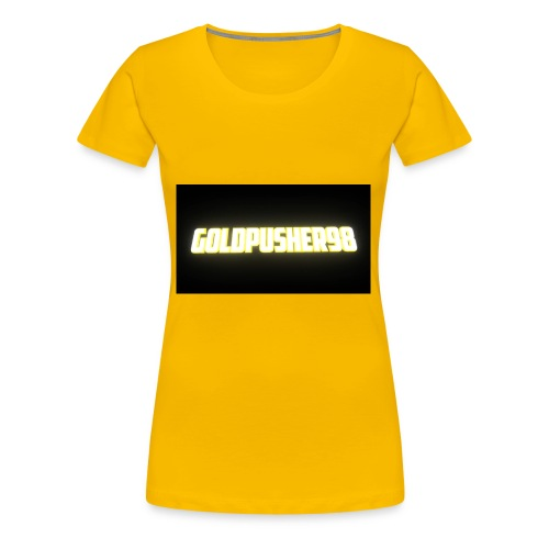 GoldPusher98 - Women's Premium T-Shirt