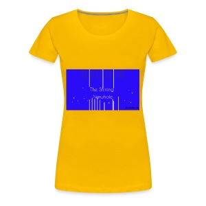 Shining Narwhale - Women's Premium T-Shirt