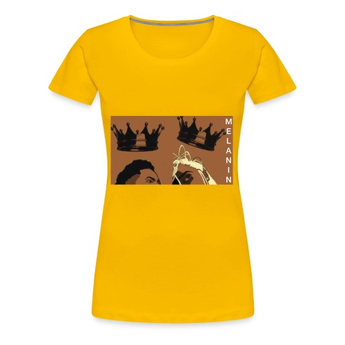 MELANIN ROYALTY - Women's Premium T-Shirt