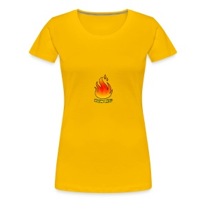 The HowLit Flame - Women's Premium T-Shirt