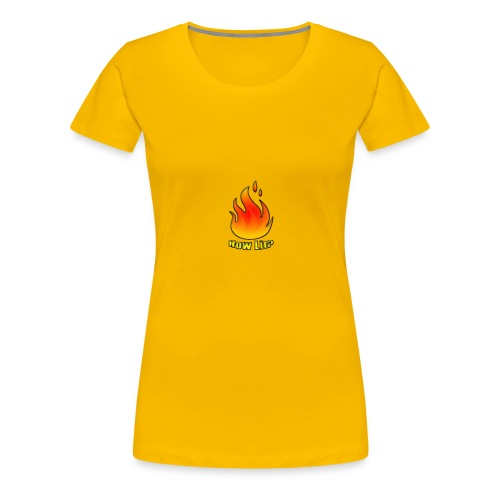 The HowLit Flame - Women's Premium T-Shirt