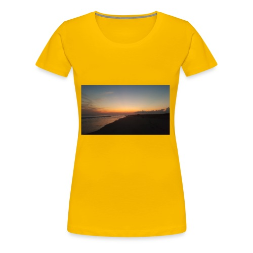 Ocean Sunset - Women's Premium T-Shirt