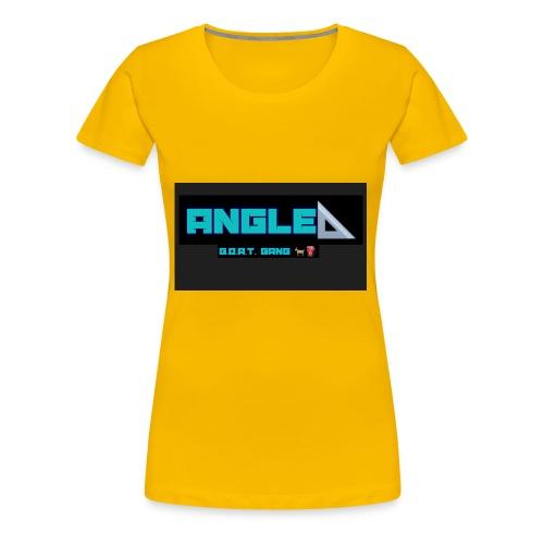 Angle - Women's Premium T-Shirt