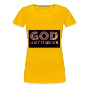 Travis the god - Women's Premium T-Shirt