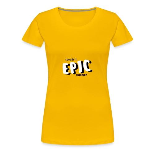 Scoutr's Epic Summer - Women's Premium T-Shirt