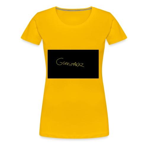 GamingBoyz - Women's Premium T-Shirt