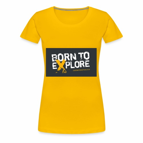 Born To Explore - Healthy Outfit - Women's Premium T-Shirt