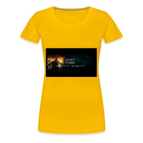 Deadly_Zombies_-1- - Women's Premium T-Shirt