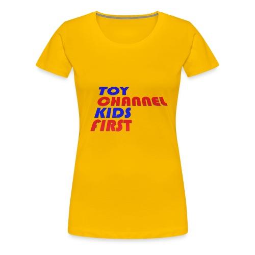 TOY CHANNEL KIDS FIRST - Women's Premium T-Shirt