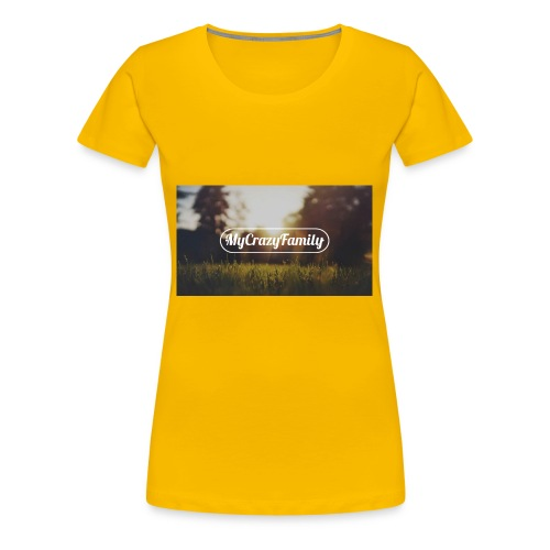 mycrazyfamily2 - Women's Premium T-Shirt