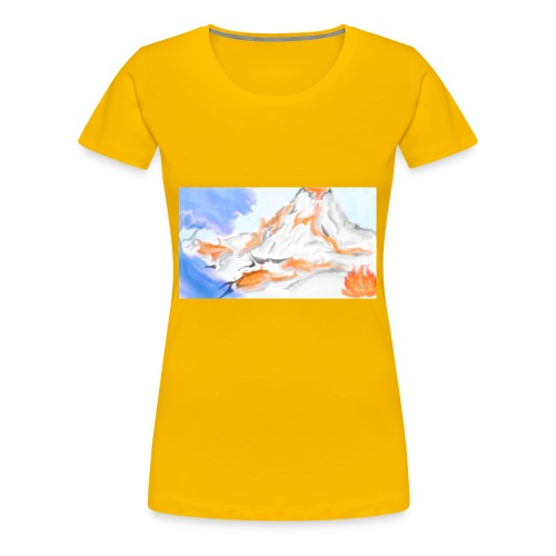 Land - Women's Premium T-Shirt
