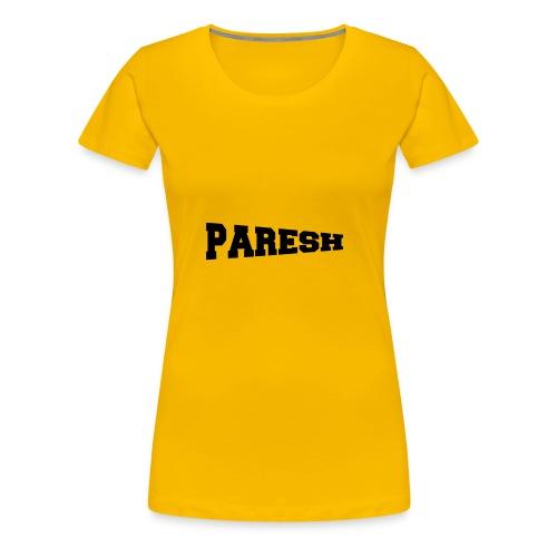 Paresh - Women's Premium T-Shirt