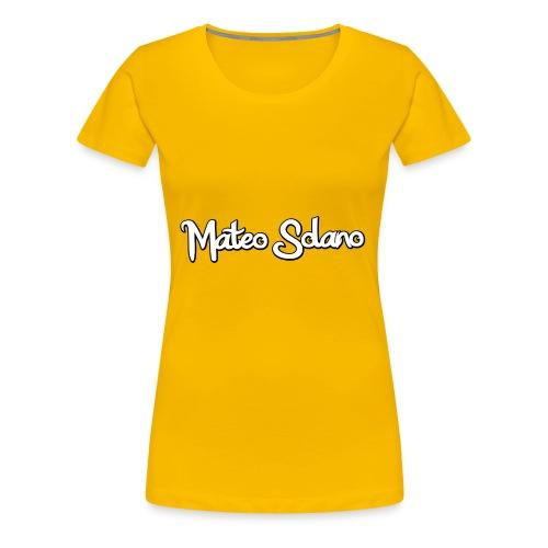 MATEO SOLANO - Women's Premium T-Shirt