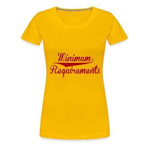 Logo Design - Women's Premium T-Shirt