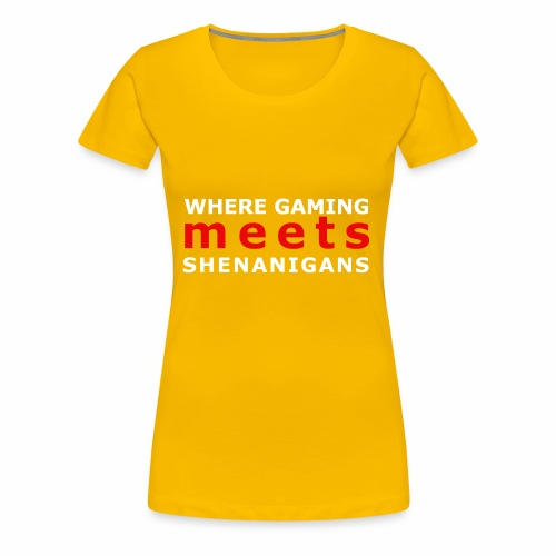 shenaniganswhite - Women's Premium T-Shirt