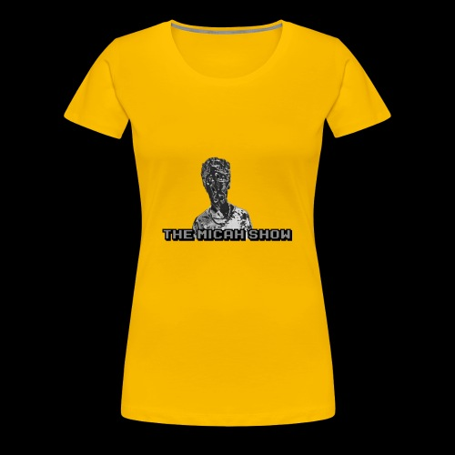 Limited Edition Silver Micah Show Logo's - Women's Premium T-Shirt