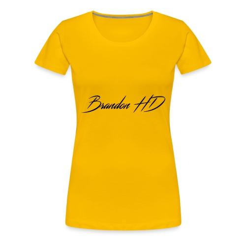 Brandon HD - Women's Premium T-Shirt