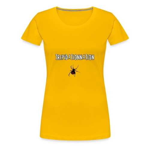 TrepidationNation and Spider v.2 - Women's Premium T-Shirt