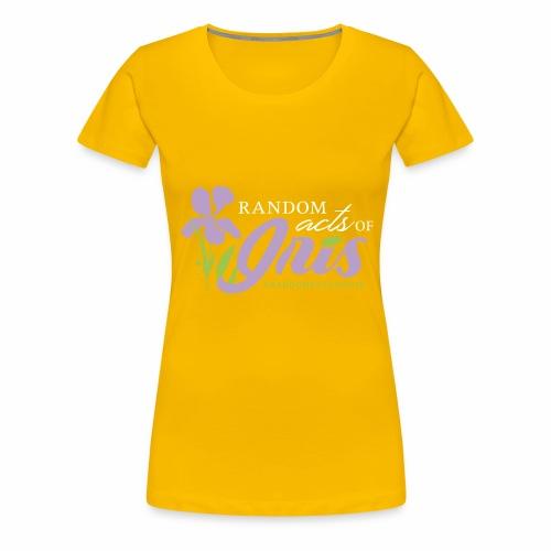 Random Acts of Iris - Women's Premium T-Shirt