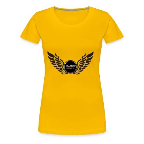 mystery tech wings logo - Women's Premium T-Shirt