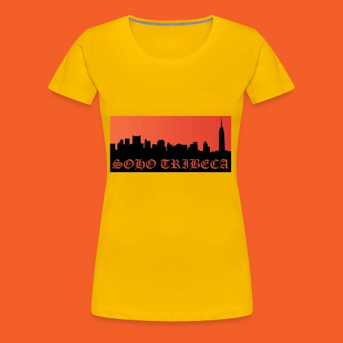 Soho Tribeca NYC Skyline - Women's Premium T-Shirt