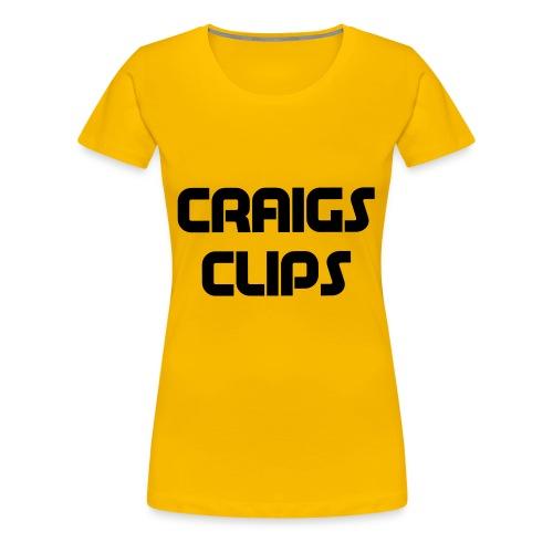 craigs clips - Women's Premium T-Shirt