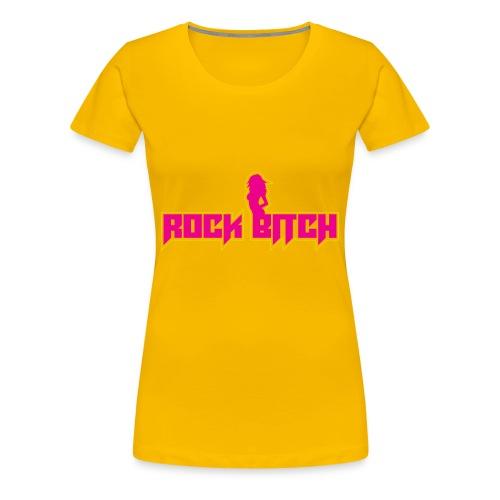 Rock Bitch - Women's Premium T-Shirt