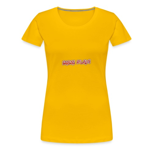 SABAS PLAYS - Women's Premium T-Shirt