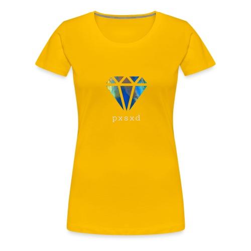 Poetic Savage Logo Diamond - Women's Premium T-Shirt
