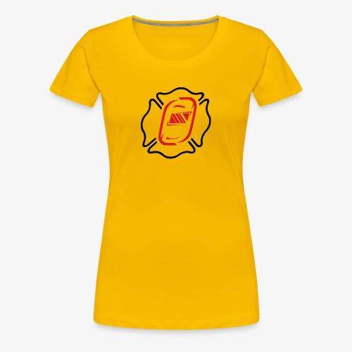 Off Duty Iron Maltese - Women's Premium T-Shirt