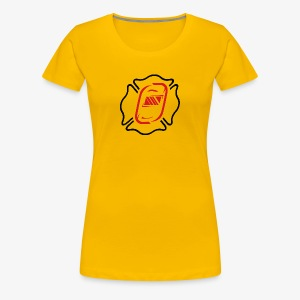 Off Duty Iron Maltese - Women's Premium T-Shirt