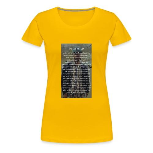Online Store - Women's Premium T-Shirt