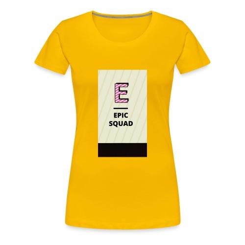 Epicsquad - Women's Premium T-Shirt