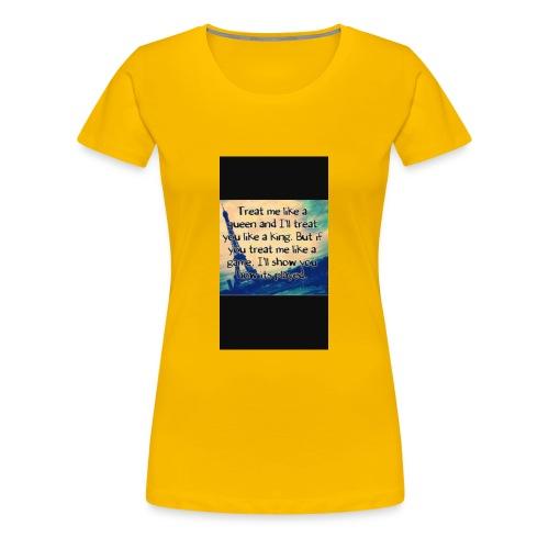 27E0C834 A0C3 4F22 A50F CE305AEAAEF4 - Women's Premium T-Shirt