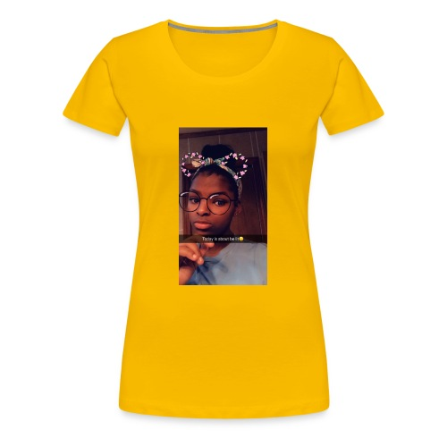 74EF183C CC74 4EAF A7AF D3594321E24F - Women's Premium T-Shirt