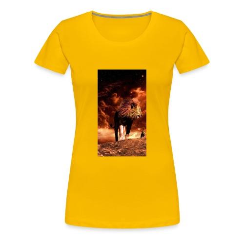 Lion 8777b6f7 3f7c 3f0f b84f 7dd7d3e9c75c - Women's Premium T-Shirt