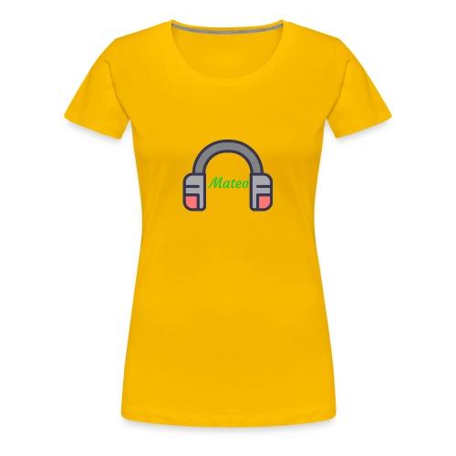 Mateo Logo - Women's Premium T-Shirt